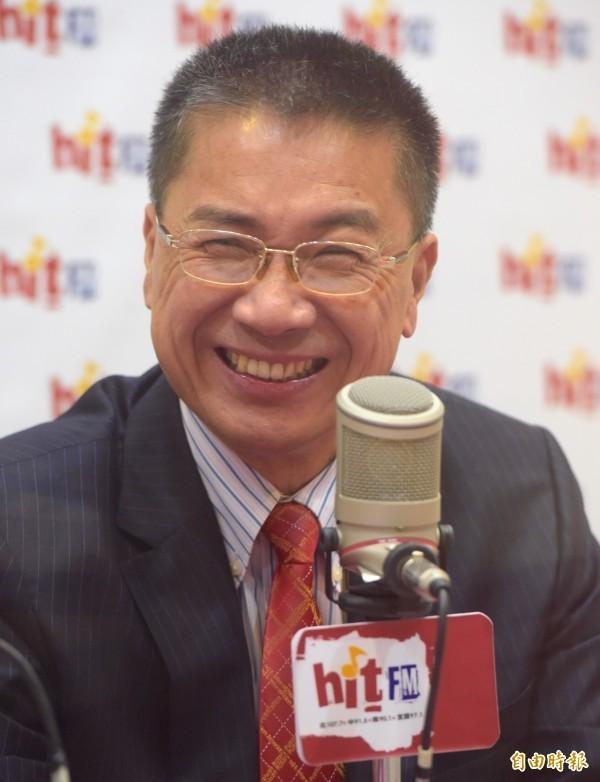 新任行政院發言人徐國勇。(記者黃耀徵攝)