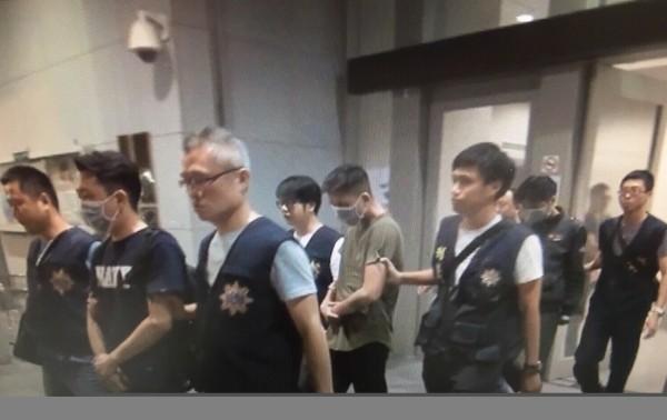 訊後,警方依殺人罪嫌將初男等3人移送法辦。(記者姜翔翻攝)