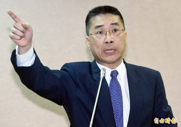 民進黨不分區立委徐國勇將接任政院鈏言人。(資料照,記者廖振輝攝)