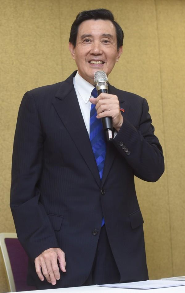 東吳大學日前邀請前總統馬英九擔任9月26日「台灣的國際法定位」為題的法學講座教授。(資料照,記者簡榮豐攝)