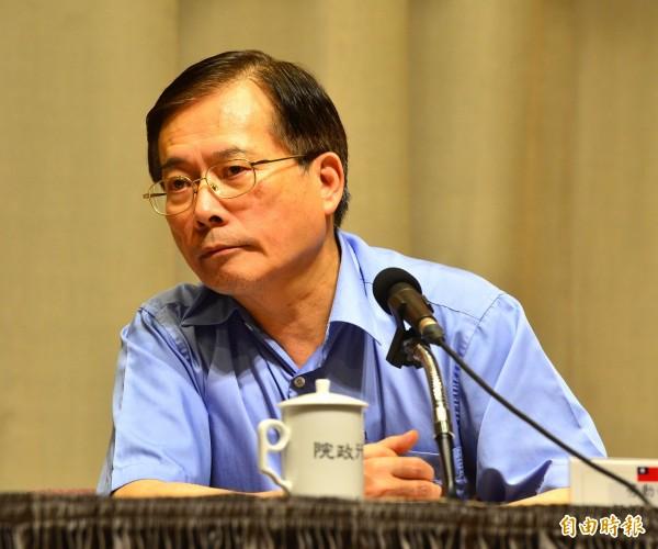 勞動部長郭芳煜強調,保障派遣工的勞動權益是必要的政策,目前也已多方徵詢專家與勞團意見,預計在年底前出草案。(資料照,記者王藝菘攝)