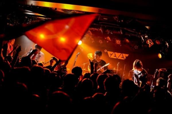 台灣樂團「滅火器」今年6月曾在日本東京舉辦首場專場演唱會。(火氣音樂提供)