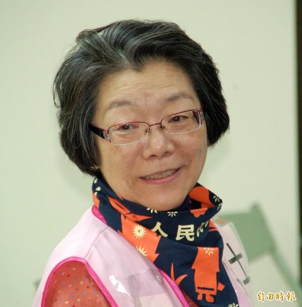 夏林清表示,輔大受到網路輿論壓力,才會將她暫時停職。(資料照,記者陳璟民攝)