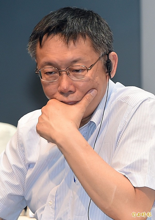 台北市長柯文哲上任至今市府小內閣動盪不安、一級首長辭職頻繁。(資料照,記者廖振輝攝)