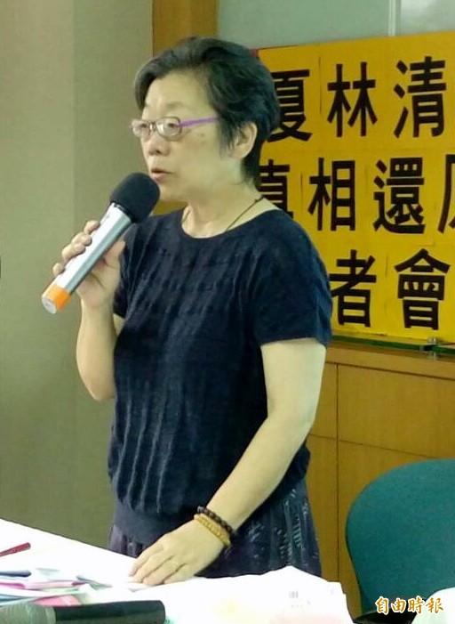 夏林清因女學生性侵案飽受外界批評,她表示自己受到網路霸凌,要不是有過去幾十年從事社會運動的心路歷程支撐住,不然她早就趴了。(資料照,記者李盈蒨攝)