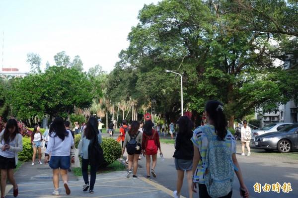 輔仁大學去年傳出學弟性侵學姐的校園醜聞。(資料照,記者葉冠妤攝)