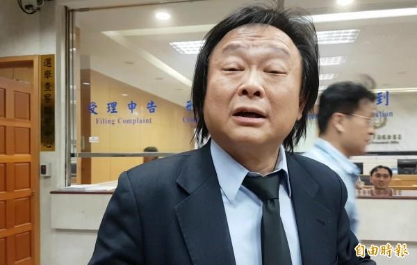 北市教育局長湯志民今(25)日閃辭,對此北市議員王世堅痛批是柯P的代罪羔羊。(資料照,記者錢利忠攝)