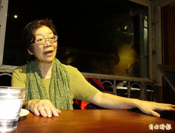 對於輔大校長江漢聲的公開道歉信,夏林清說,手邊有處理的事情非常多,相當忙碌,連好好讀完這封公開道歉信的時間都沒有。(資料照,記者王藝菘攝)