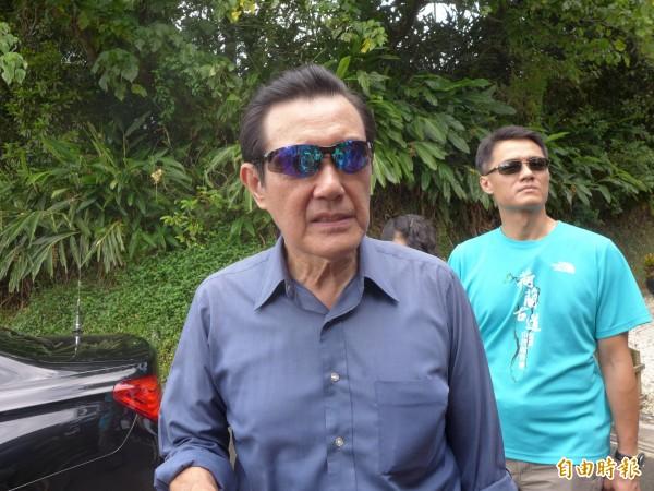 前總統馬英九。(資料照,記者李雅雯攝)