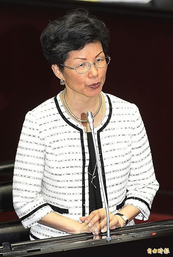 針對台灣未受邀參加ICAO,陸委會主委張小月認為要表達非常強烈的不滿與遺憾。(資料照,記者陳志曲攝)