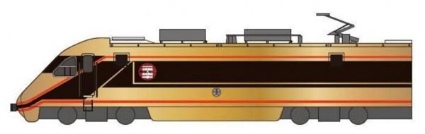 這台金色自強號10月3日將從南港出發,短暫行駛至台北亮相。(圖擷取自東武鐵道網站)
