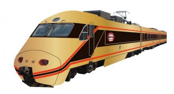 台鐵投下週將推出兩毛號SPACIA塗裝的推拉式自強號。(圖擷取自東武鐵道網站)