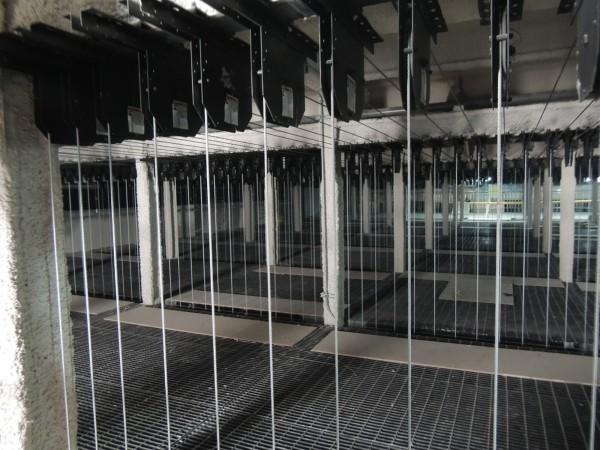 位於士林的「台灣戲曲中心」原定10月試營運,卻傳出諸多問題,其中包含主建築鋼梁歪斜。(傳藝中心提供)