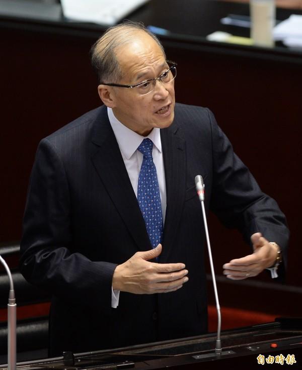 外交部表示,如果ICAO真的禁止我國友邦提及台灣,將會表達嚴正抗議。圖為外交部長李大維。(資料照,記者林正堃攝)