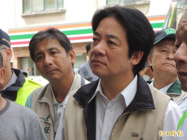余天勸賴清德選台北市,一些綠營議員表示支持。(資料照)