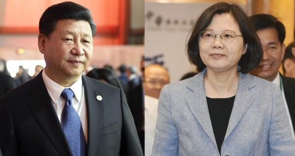 有黨政人士透露,中國若又杯葛台灣參加國際刑警組織大會,蔡英文政府將強勢回應。(合成照)