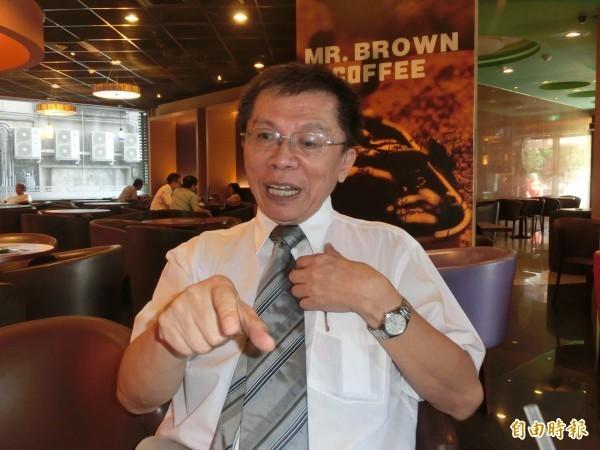 前立委沈富雄分析,中國打壓台灣,藍營對此有3種反應。(資料照,記者李欣芳攝)