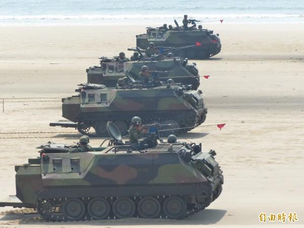 海大衛表示,台灣要發展菁英部隊以嚇阻、阻斷或拖延侵略。(資料照,記者吳正庭攝)
