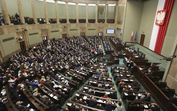 波蘭國會今日否決一項幾乎全面禁止墮胎的提案。(美聯社)