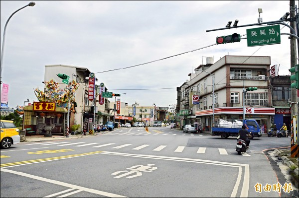 市府規劃將桃園區延平路打通,連接到八德區和平路、榮興路口。(記者謝武雄攝)