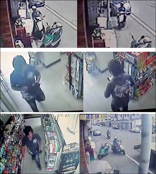 詐騙集團姚姓車手在便利商店提領贓款,被警方鎖定循線查獲。(記者湯世名翻攝)
