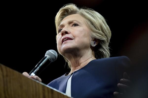 希拉蕊被爆料,她曾私下表示,若中國無力制止北韓的核武計畫,美國將會「用飛彈圍堵中國」。(美聯社)