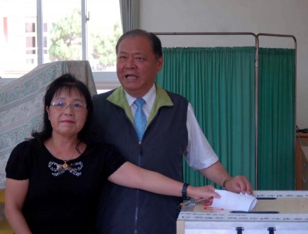 縣長陳光復表示,無論公投結果如何,縣府都會審慎思考澎湖未來發展。(中央社)