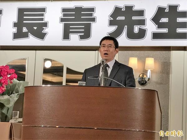 曹長青在東京演講指出,台灣如成功爭取以「台灣」的名義在東京奧運進場,將成為日後台灣進入更多國際組織的信心指標。(駐日特派員張茂森攝)