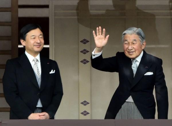 日本擬在平成30年(2018年)舉行「大嘗祭」,其為日本新天皇即位後的重要儀式,這意味德仁皇太子必須在此前繼位。(資料照,法新社)