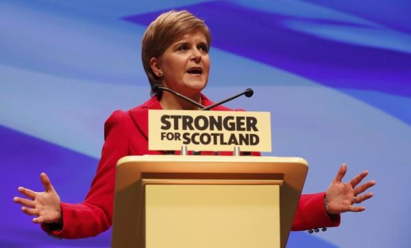 蘇格蘭首席大臣施特金表示,正在籌備第2次獨立公投,本週將公布獨立公投法案草案。(路透)