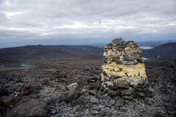 挪芬邊境的哈爾蒂亞峰。(美聯社)