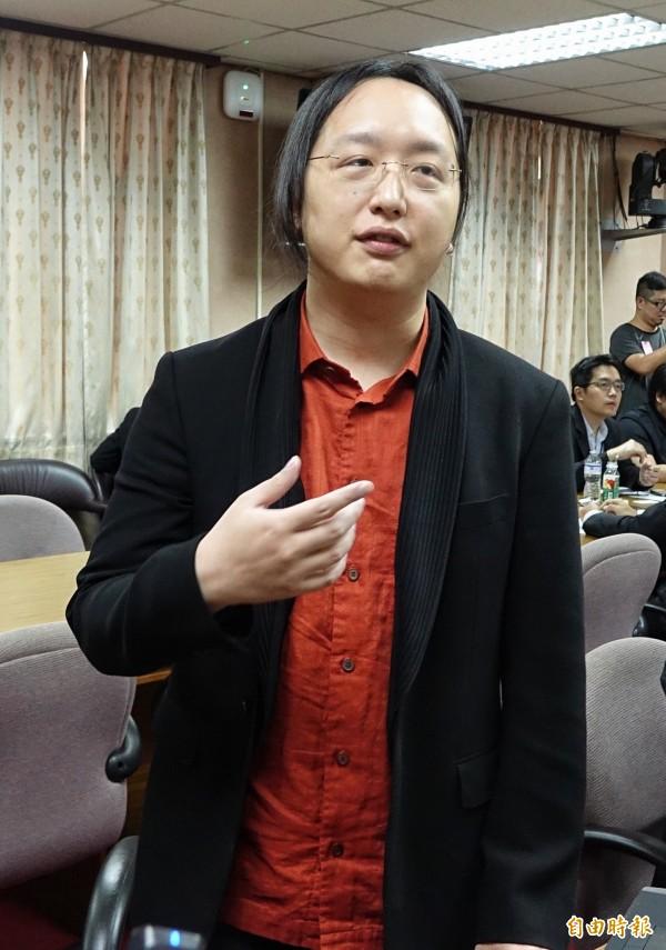 由於唐鳳過去都是遠距工作居多,上任政務委員前,就向林全提出每週三、五「遠距上班」需求。(資料照,記者劉信德攝)