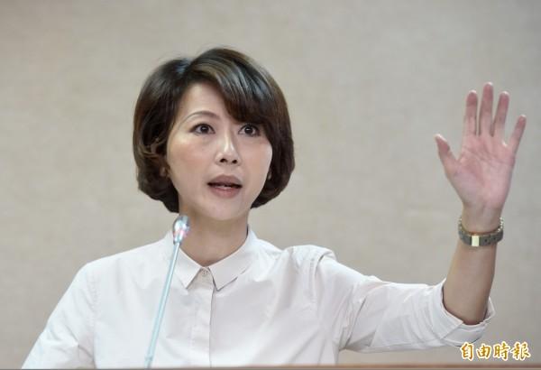 民進黨立委陳亭妃今受訪指出,電業法修法刻不容緩,為了2025非核家園目標絕不能退縮。 (資料照,記者簡榮豐攝)