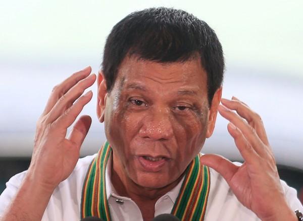 菲律賓總統杜特蒂說,菲律賓在經濟上唯一的希望,「就是中國。」(資料照,路透)