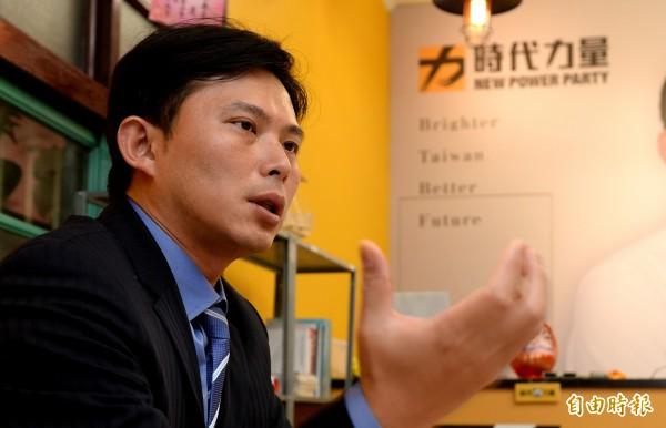 時代力量黨主席、立委黃國昌。(資料照,記者林正堃攝)