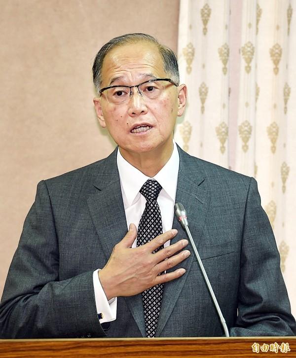 對於梵蒂岡與中國代表將會面,外交部會持續密切關注。圖為外交部長李大維。(資料照,記者方賓照攝)