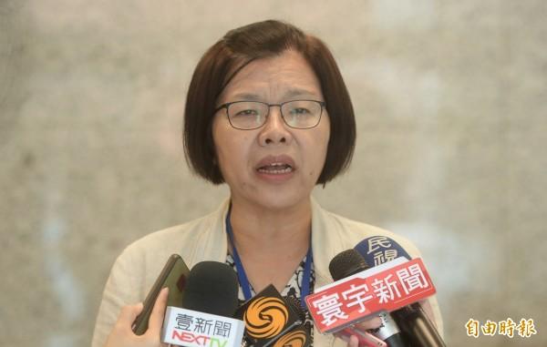 不當黨產委員會發言人施錦芳表示,國發院案具有指標性,委員會已立案協助調查(資料照,記者林正堃攝)