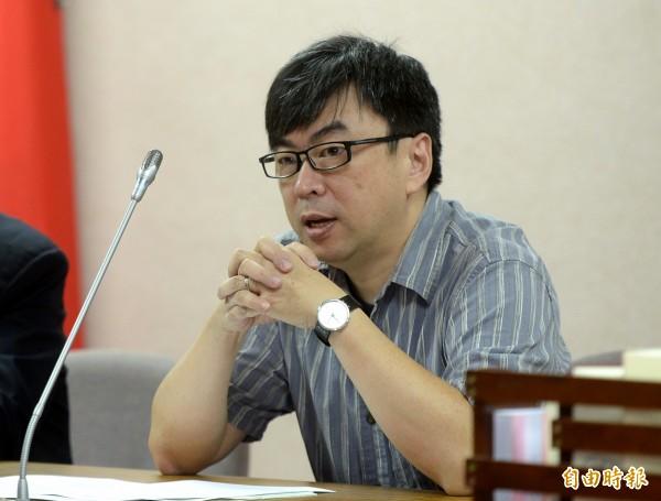 面對韓國瑜叫陣,段宜康表示不會接受挑戰,並直言韓國瑜的長處是在立法院「打人」,「看看他當立委時打了多少人」。(資料照,記者林正堃攝)