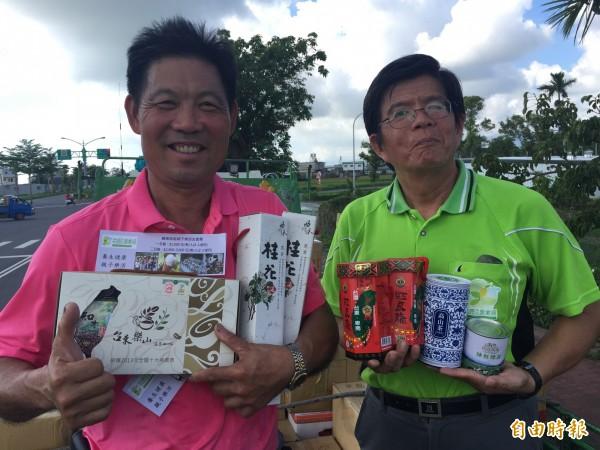 台東優質的農特產品,將進軍高雄國際食品展,藉由這個平台行銷國際。(記者張存薇攝)