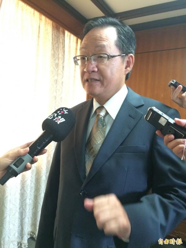 外交部次長李澄然證實已提報外館裁撤計畫給行政院。(記者呂伊萱攝)
