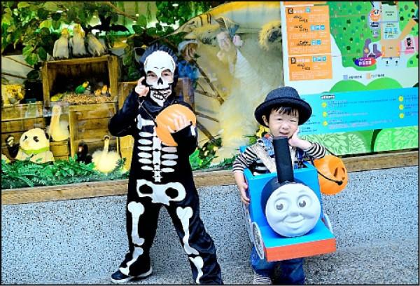 動物園邀請小朋友精心裝扮,來參加29日Zoolloween創意變裝走秀晚會。(台北市立動物園提供)