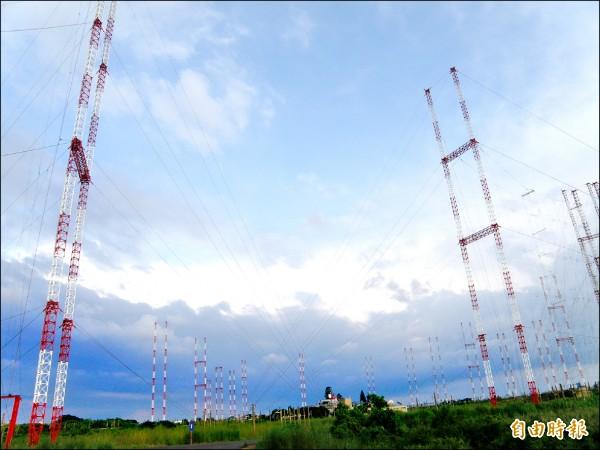 遷移後的天馬電台用地,市府規劃為「影視主題園區」。(記者蔡文居攝)