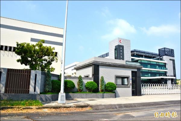 大慶汽車專區內的新廠房陸續動工。 (記者侯承旭攝)