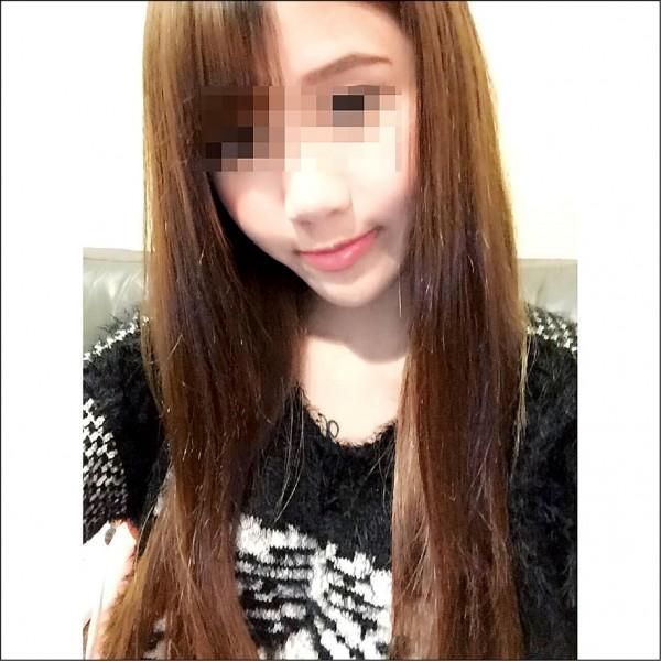 歐姓正妹連續車禍4次,前日又因持毒被警方逮捕。 (翻攝自臉書)