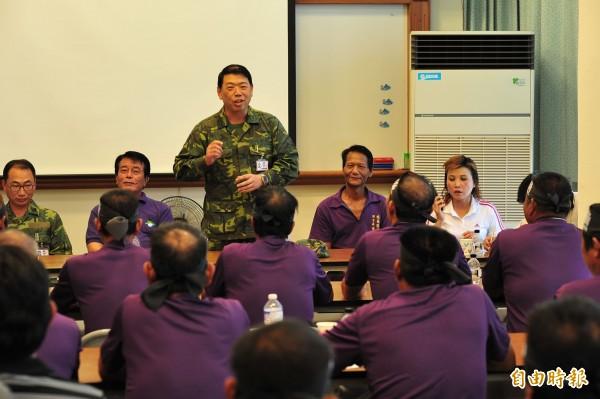 國防部軍備局長何安繼中將於今日轉任陸軍副司令。(資料照,記者蔡宗憲攝)
