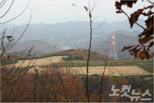 韓國天父教涉嫌非法掩埋千餘具屍體。(翻攝自CBS電視台畫面)