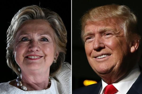 2016美國總統大選結果即將出爐,不少明星也紛紛表態立場,替自己的支持的候選人站台。(法新社)
