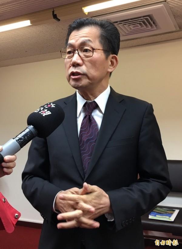 環保署長李應元今至立院報告。(記者楊綿傑攝)