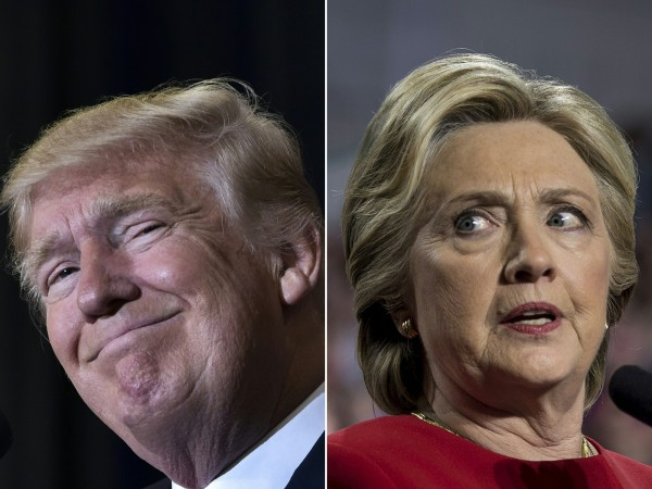 民調、媒體皆傾向希拉蕊,大選結果卻被川普翻盤。(法新社)