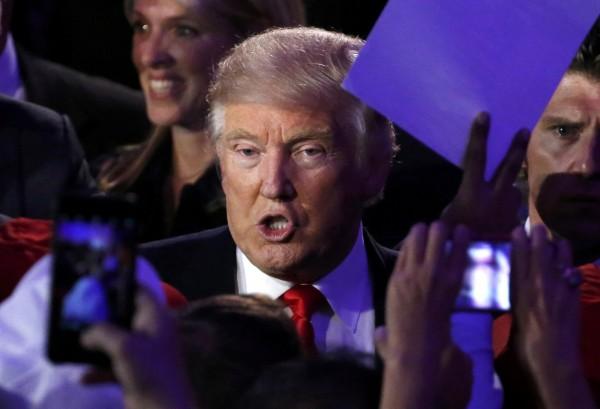 針對多次發表爭議言論的美國共和黨候選人川普(見圖)取得超過270票當選門檻的得票數,有民主黨眾議員擔心美國的對中關係可能會高度緊張。(路透)